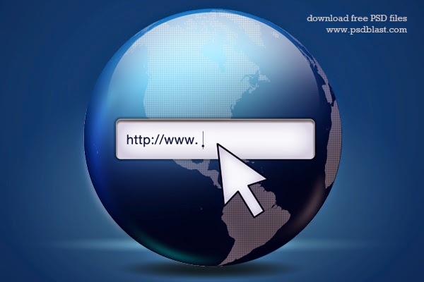 Web Search Icon PSD