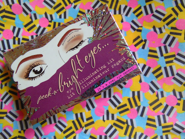 7 days 7 palettes Benefit peek a bright eyes