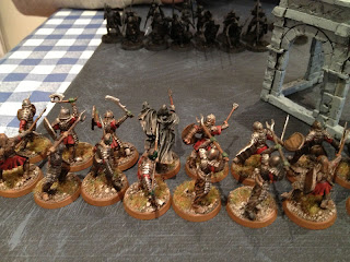 Hobbit SBG - Morannon Shaman and warband