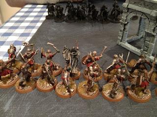 Hobbit SBG - Morannon Shaman and warband