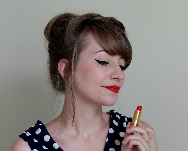 Besame Red Hot Red lipstick review
