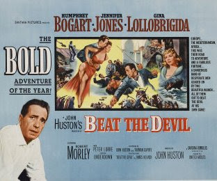 Movie Poster (British Quad) ~ Beat the Devil (1953)