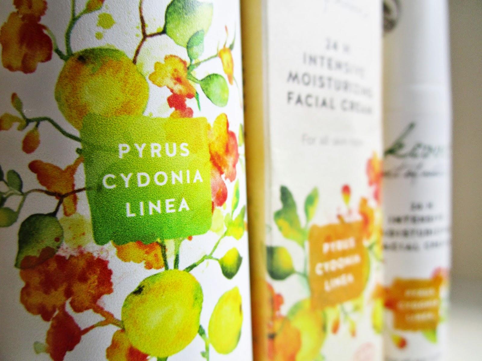 Tónico Facial Hidratante y la Crema Hidratante Intensiva 24H de la línea Pyrus Cydonia de KIVVI COSMETICS