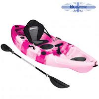 Blue Wave Crest Kayak Pink