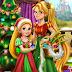 لعبة رابونزيل شجرة الكريسماس