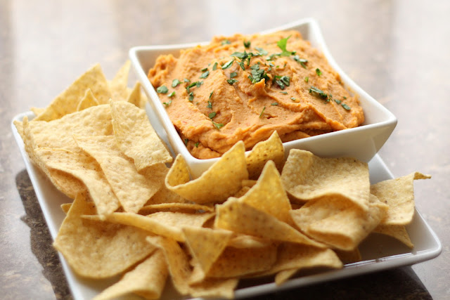 Chipotle and Lime Hummus recipe by Barefeet In The Kitchen