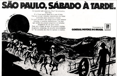 anos 70; propaganda década de 70; Brazil in the 70s; Brazilian advertising cars in the 70s; Oswaldo Hernandez;