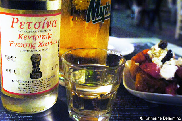 Retsina Greek Alcoholic Beverages