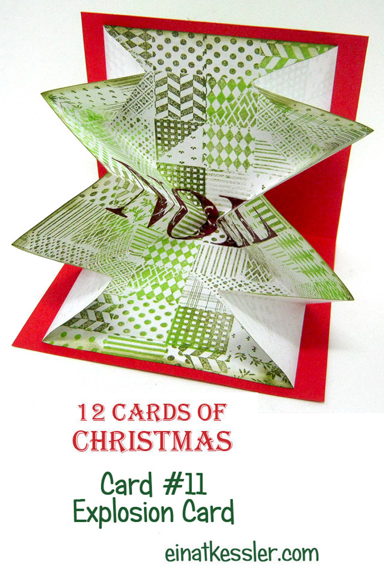 12 Cards of Christmas 2015 - Explosion Card with Ann Butler Stamps ...