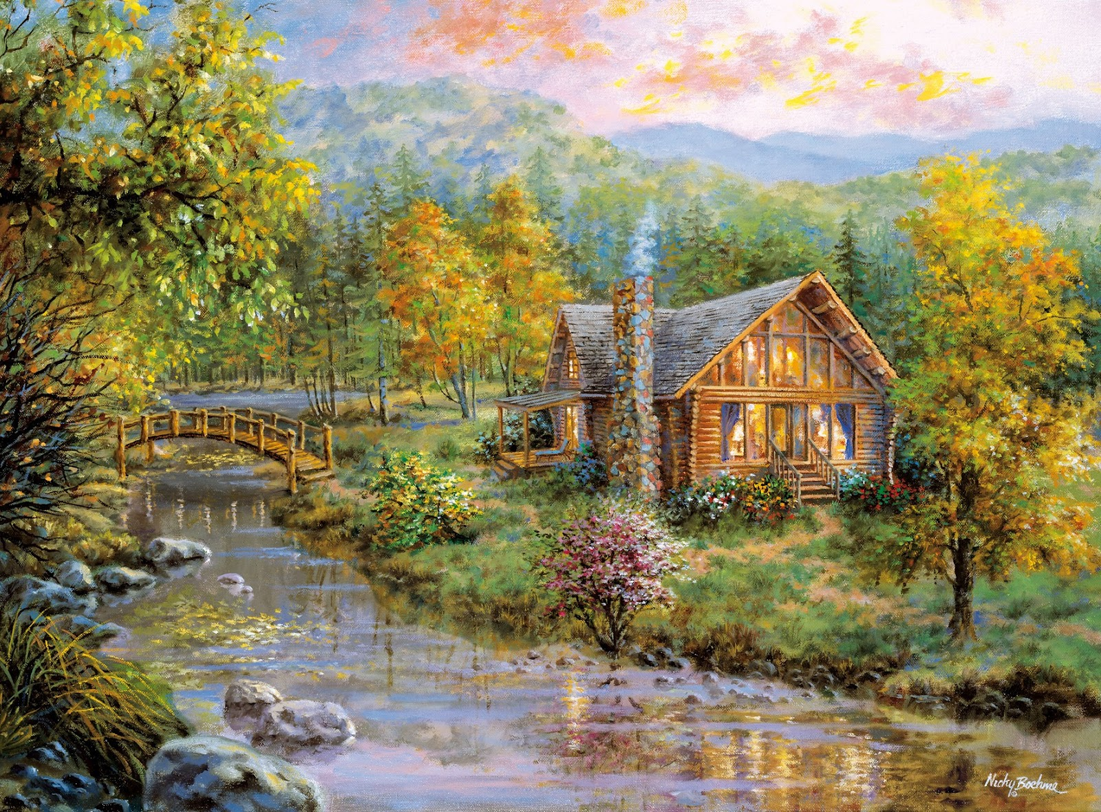 Nicky Boehme ~ American Romantic painter | Tutt'Art ...