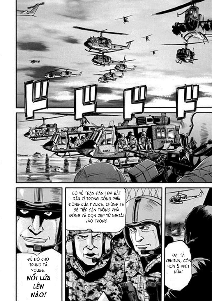 Gate – Jietai Kare no Chi nite, Kaku Tatakeri chap 11 Trang 18 - Mangak.info