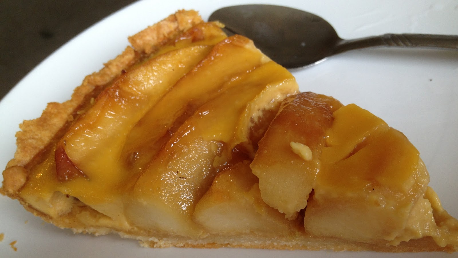 Food Locker: Tish Boyle's caramel apple tart