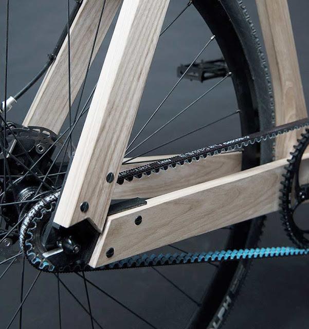 Ременной привод велосипеда