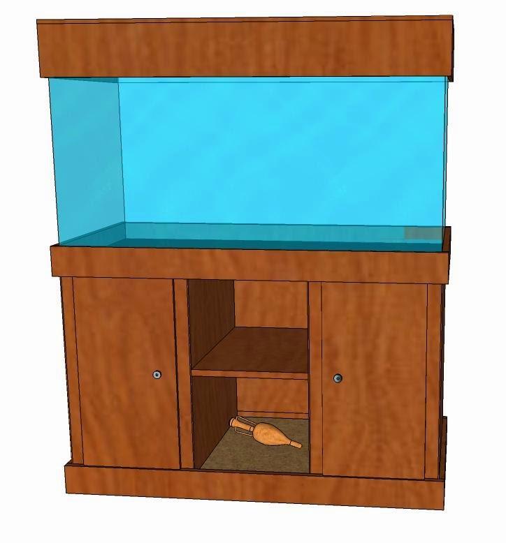 El taller del burro diy mueble para acuario de 100x50 for Mueble para acuario