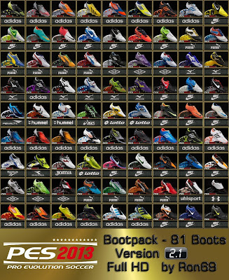 PES 2013 Bootpack 2.1 by Ron69 - 81 Boots