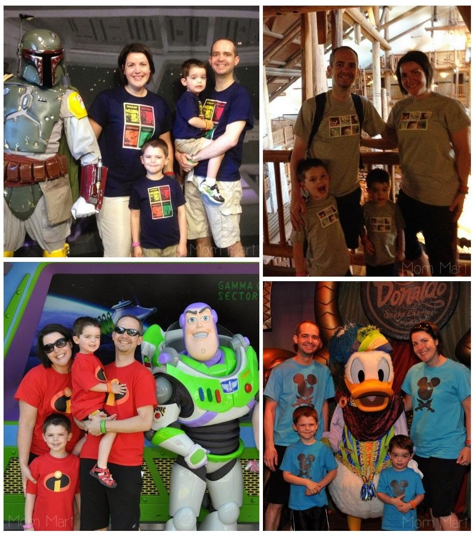 A Matching Family Tee Shirt for Disney World #Disney #FamilyTee #MatchingShirts