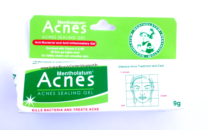 Mentholatum Acnes Sealing Gel Packaging