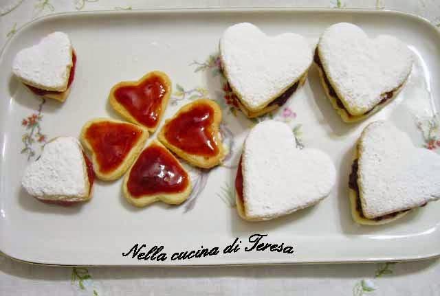 Nella cucina di teresa biscotti san valentino - Nella cucina di teresa ...