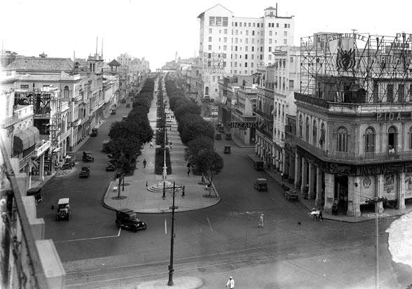 el Paseo del Prado de La Habana