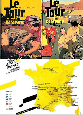 Le Tour de France - Contribution de Philippe
