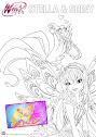 Winx Loly Colorear