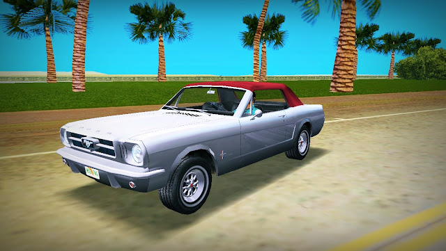 Ford Mustang Convertible 1965 GTA Vice City