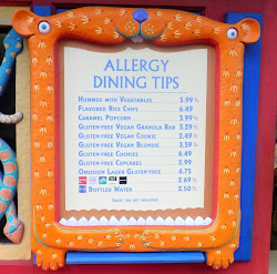 Doing Disney With Food Allergies