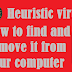 What is Heuristic virus, how to find and remove it from your computer