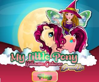 Permainan Berpakaian My Little Pony Halloween Costume