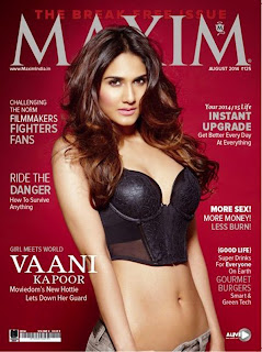 Vaani Kapoor in Maxim India Spicy Pics