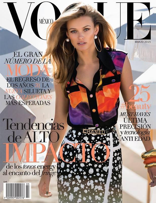 Fashion Model: Edita Vilkeviciute By Gilles Bensimon For Vogue Mexico & Latam March 2015