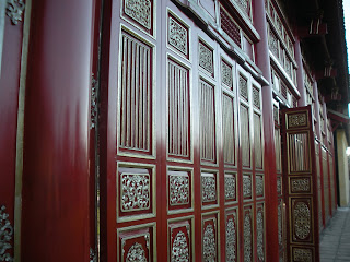 Hung Mieu Temple Gate. Hue Citadel