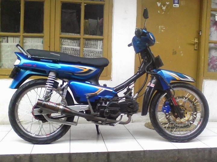 modifikasi sepeda motor honda astrea grand