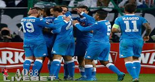 Agen Piala Eropa - Napoli meraih kemenangan keduanya di fase grup Liga Europa usai mengalahkan Legia Warsawa 2-0