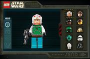 Lego Star Wars es una aplicación web que permite crear a estos personajes.