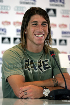 Sergio Ramos Real Madrid Football Player Profile.Short