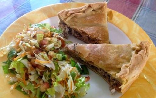 Chicken pie with Mushrooms, Mediterranean Diet, The Cretan Diet,