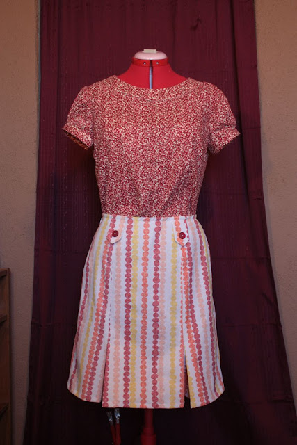 Lisette Market Blouse and Skirt