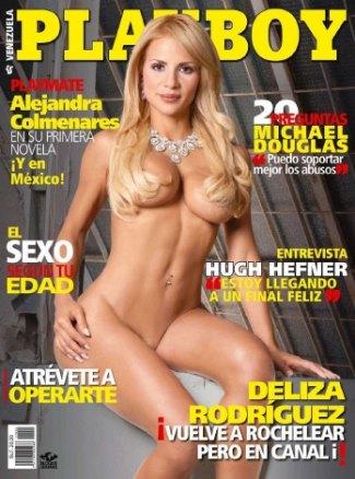 Revista Playboy Venezuela Deliza Abril De