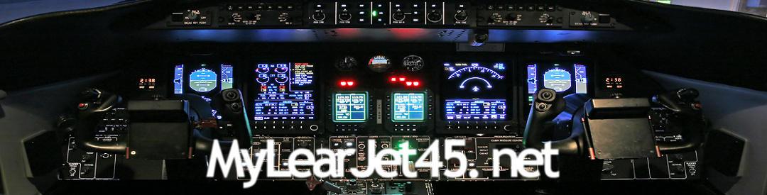 Il mio Learjet 45