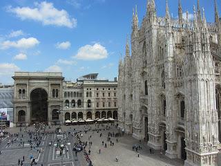 Милан. Галерея. Фото