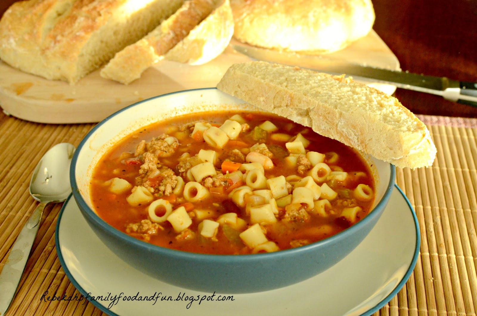 Family Food And Fun Olive Garden Pasta E Fagioli Soup