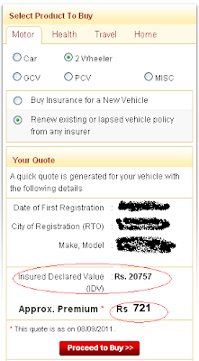 Online Motor Insurance Renewal High Cost Low Value