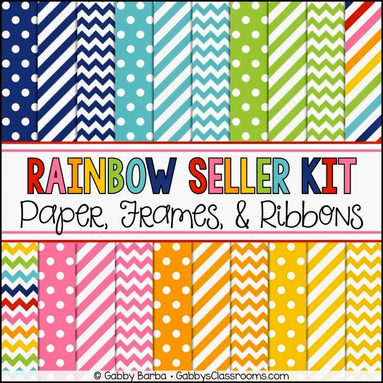https://www.teacherspayteachers.com/Product/Rainbow-Seller-Kit-JUMBO-Freebie-1752368