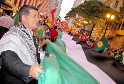 Ato histórico em São Paulo pelo Estado da Palestina Já - foto 35