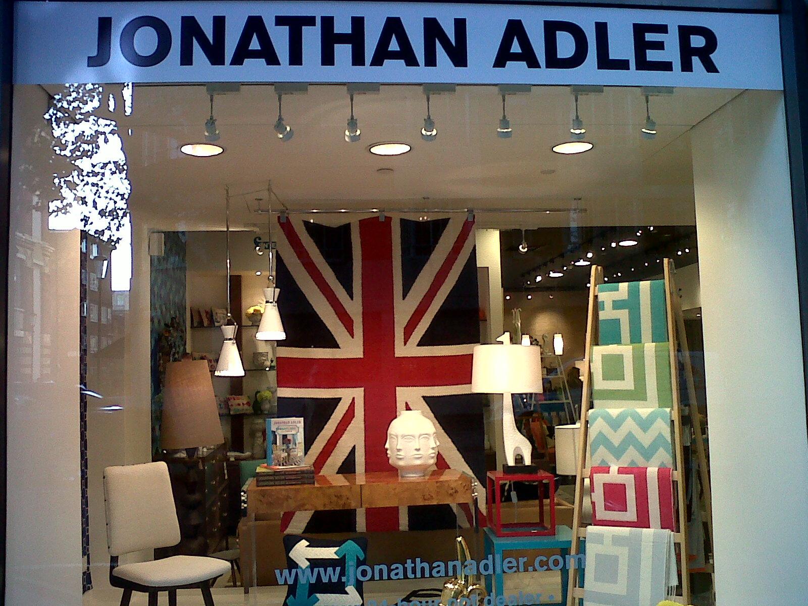 Jonathan Adler Arrives In London