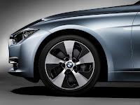 2013 BMW 3-Series Sedan (F30) ActiveHybrid 3: Exterior Detail: Special Dedicated Wheel Rim Design
