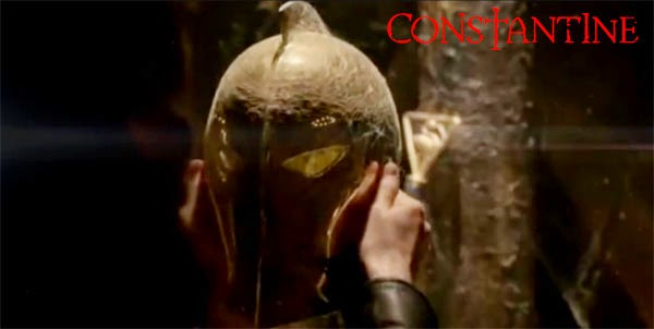 Pic of Dr. Fate´s helmet in Constantine series
