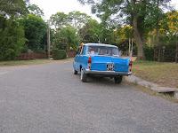 Auto Fiat Atlantida Uruguay antiguo turismo