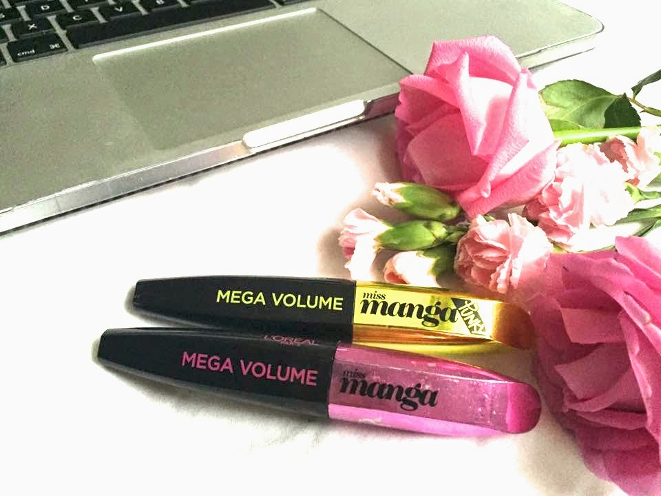 Simple Synth Miss Manga VS Miss Punky Review Mascara l'oreal